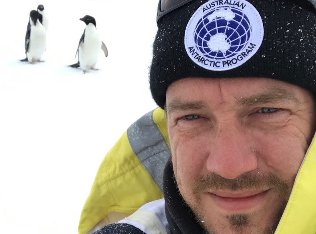 Meditation in Antarctica