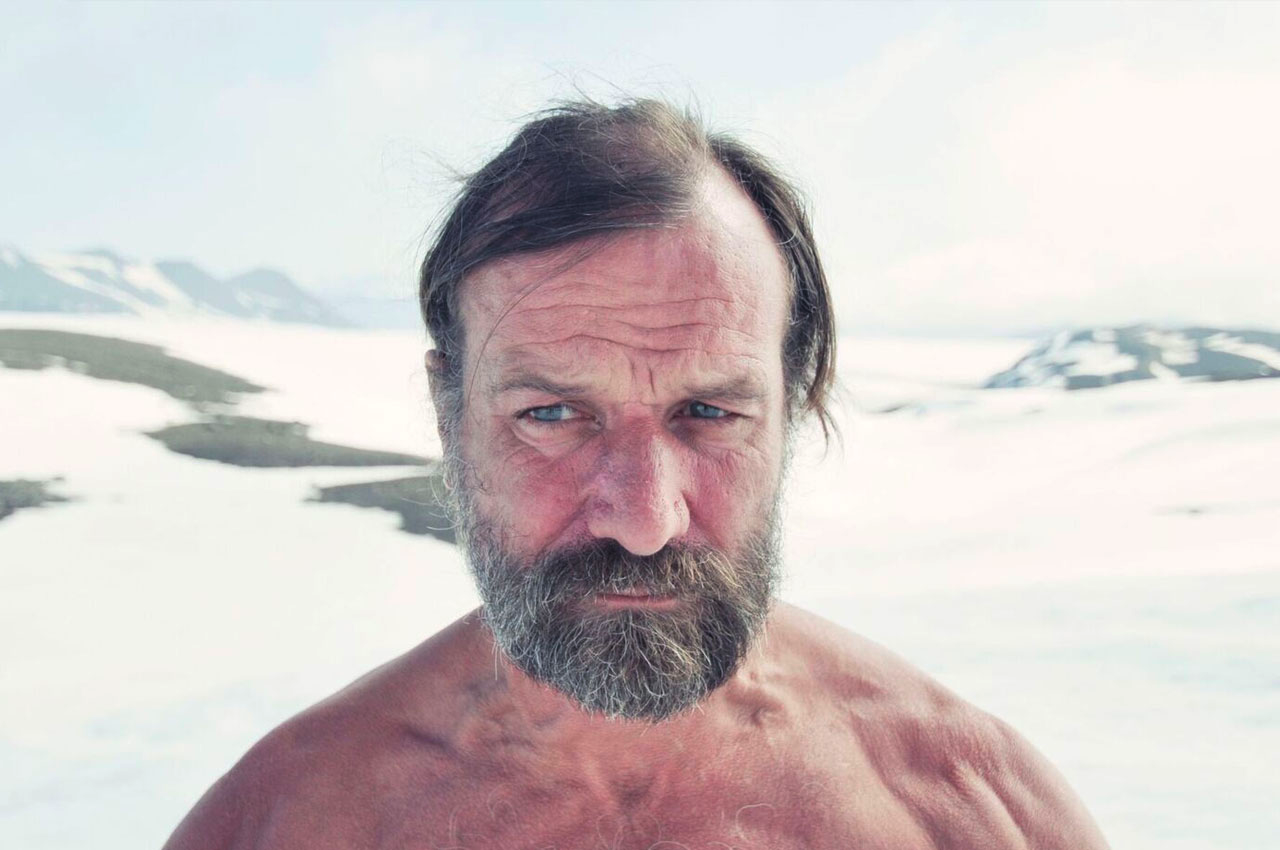 Wim Hof method breathing cold shower mindset