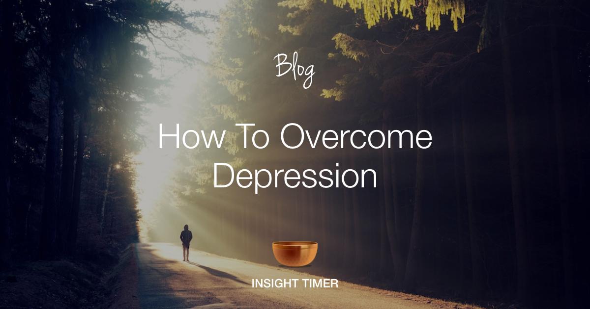 Depression steps to overcome A Step