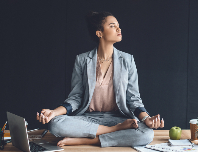 From Mind-is-Full to Mindful at Work