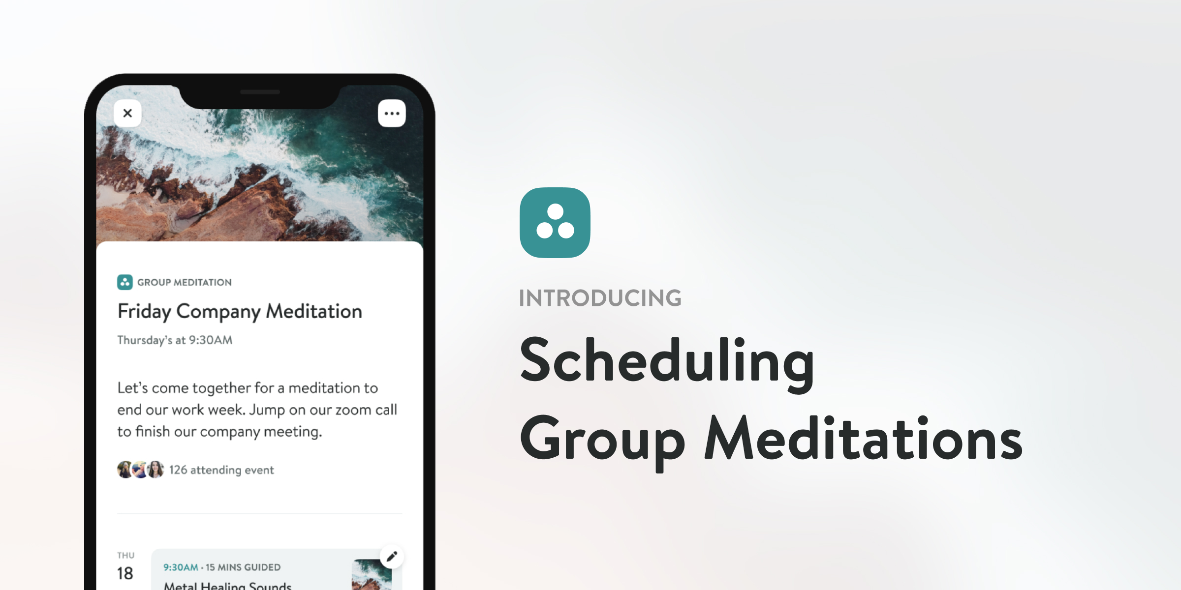 Scheduling Group Meditations