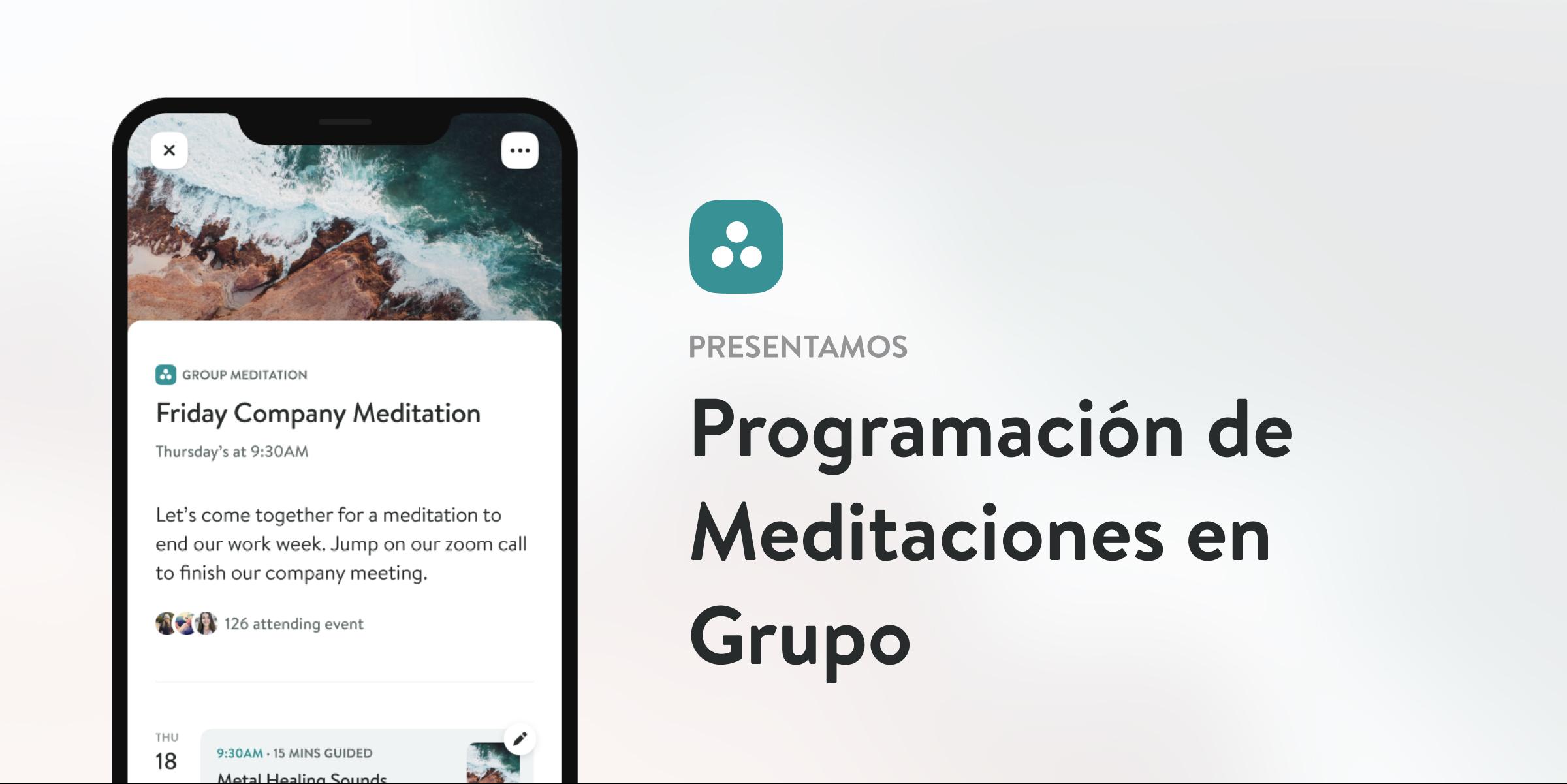 Programación de Meditaciones en Grupo