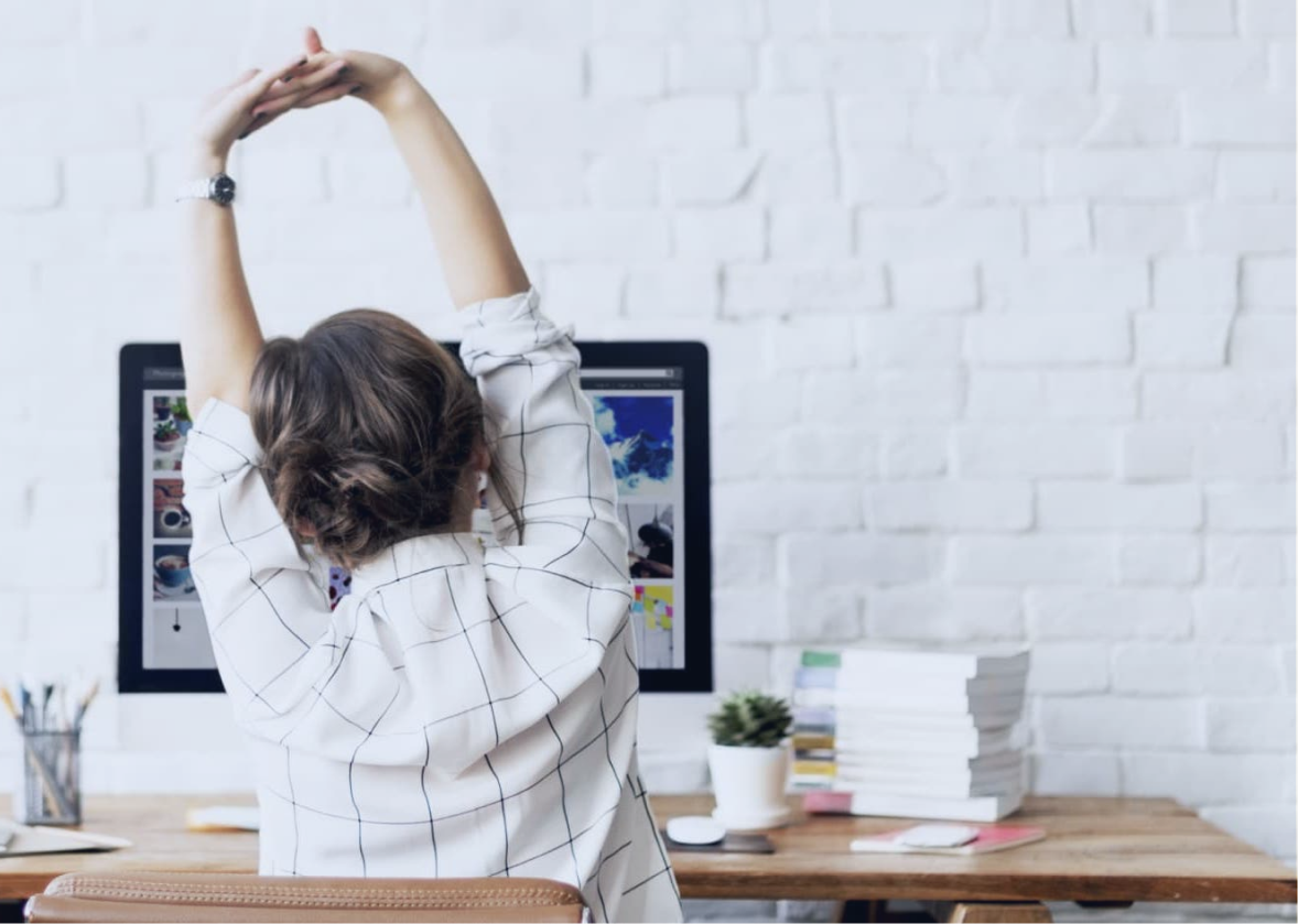 Simple Yoga Stretches You Can Do at Your Desk